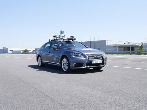 Toyota commence ses essais de conduite autonome sur les routes ouvertes au public à Bruxelles