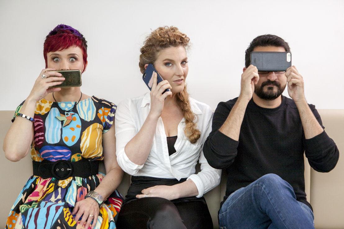 Cal Wilson, Alice Fraser & Sami Shah
