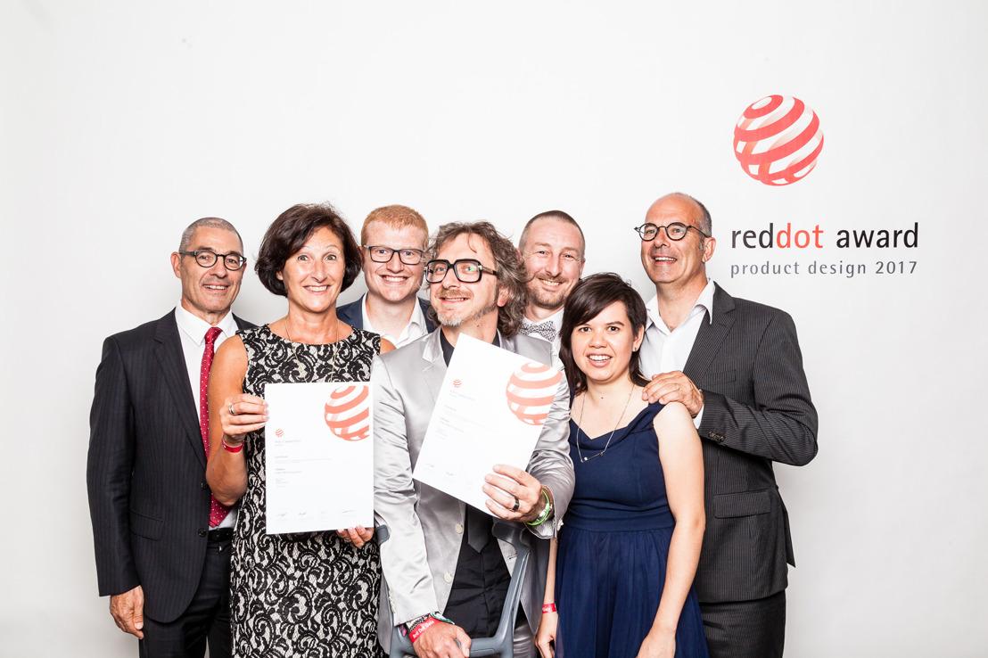 COMMUNIQUE DE PRESSE beMatrix remporte le Red Dot Award pour le Product Design avec son LEDskin®