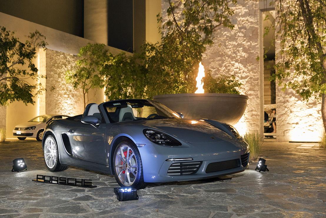 718 Boxster en el Porsche Golf Cup México Finale 2018