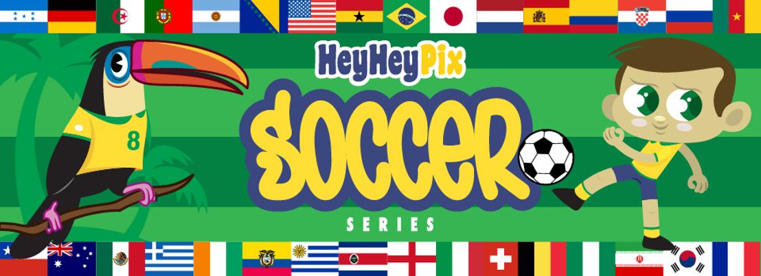 HeyHey Pix the Soccer Series