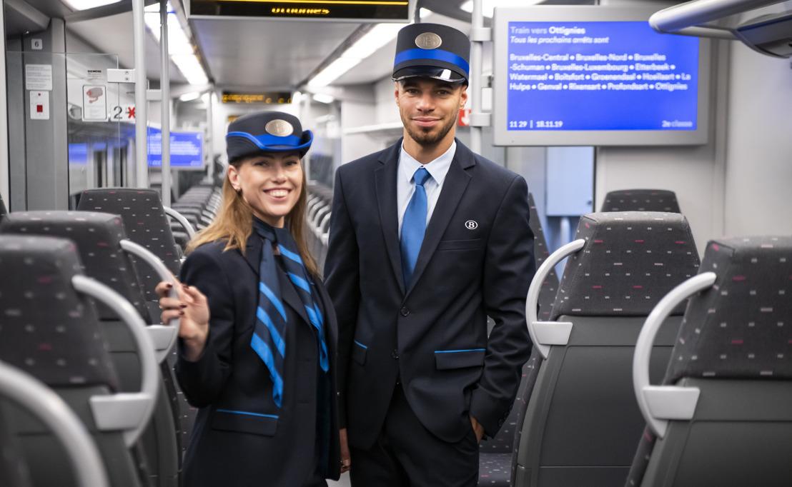 Le nouvel uniforme de la SNCB visible à partir d'aujourd'hui par les voyageurs