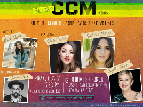 Contemporary Christian Music's Most Powerful Female Vocalists to Share the Stage for REUNITE CCM