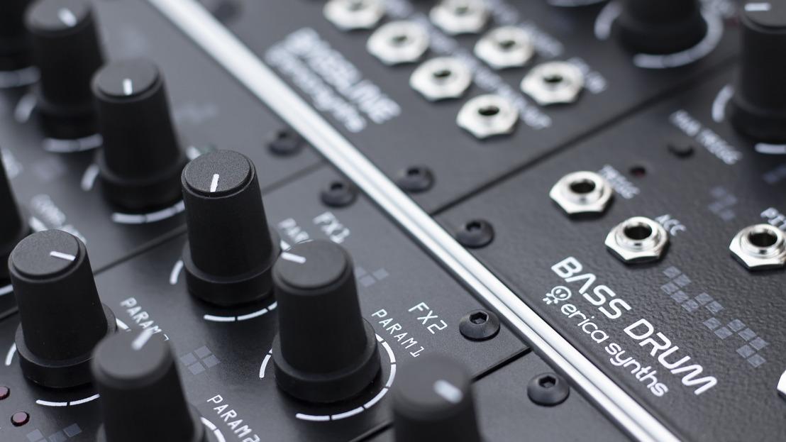 Erica Synths Announces New Drum Series Modules