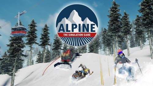 Aerosofts Line-Up zur gamescom 2021: Mit Alpine - The Simulation Game das eigene Skigebiet managen