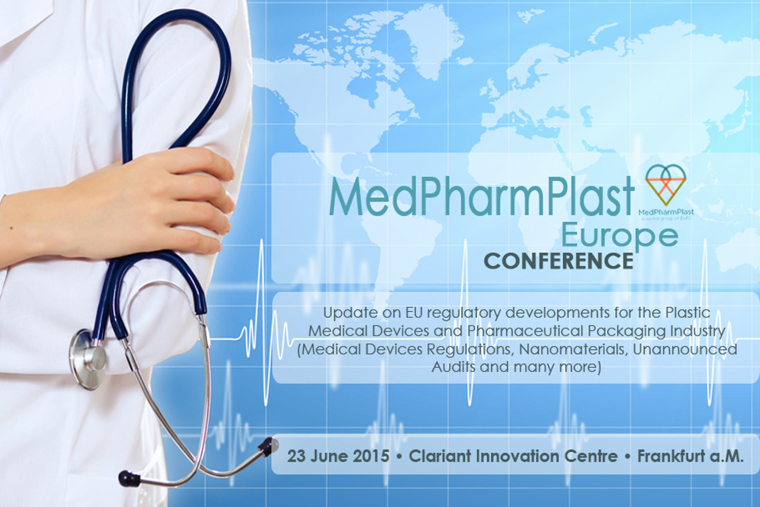 MedPharmPlast Europe Conference 2015 - CHECK THE FINAL PROGRAMME & REGISTER NOW