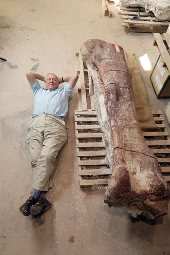 Attenborough and the Giant Dinosaur - (c) BBC