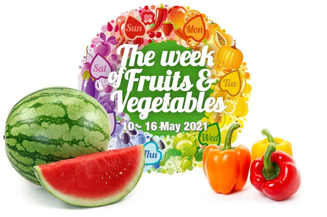 Frugt - og grøntsagsugen (10.-16. maj): Topkokke fra hele verden går sammen om at fremme forbruget af frugt og grøntsager