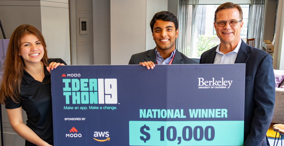 Food Insecurity App Built by a Team of UC Berkeley Students Wins Modo Ideathon, National App-building Competition