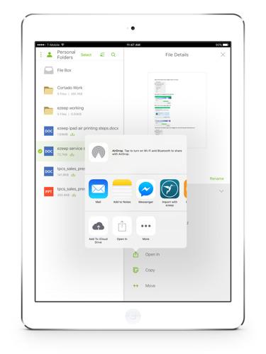 ThinPrint Cloud Services ermöglicht mobiles Drucken für Citrix ShareFile