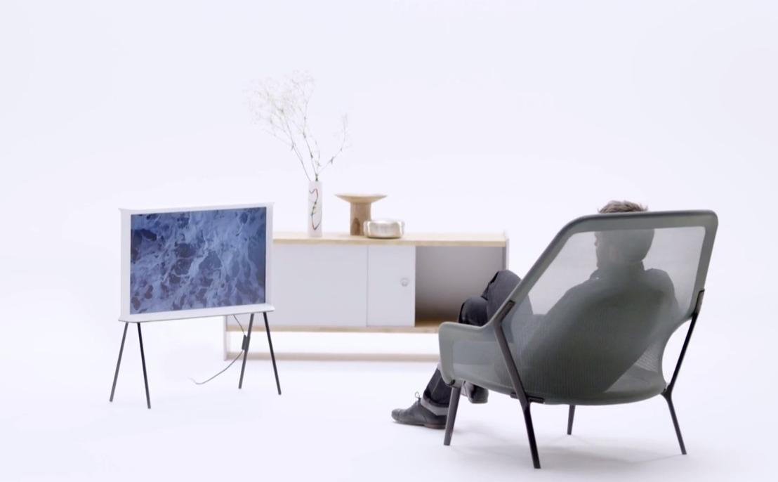 Samsung Serif TV: Designmeubel met eersteklas technologie