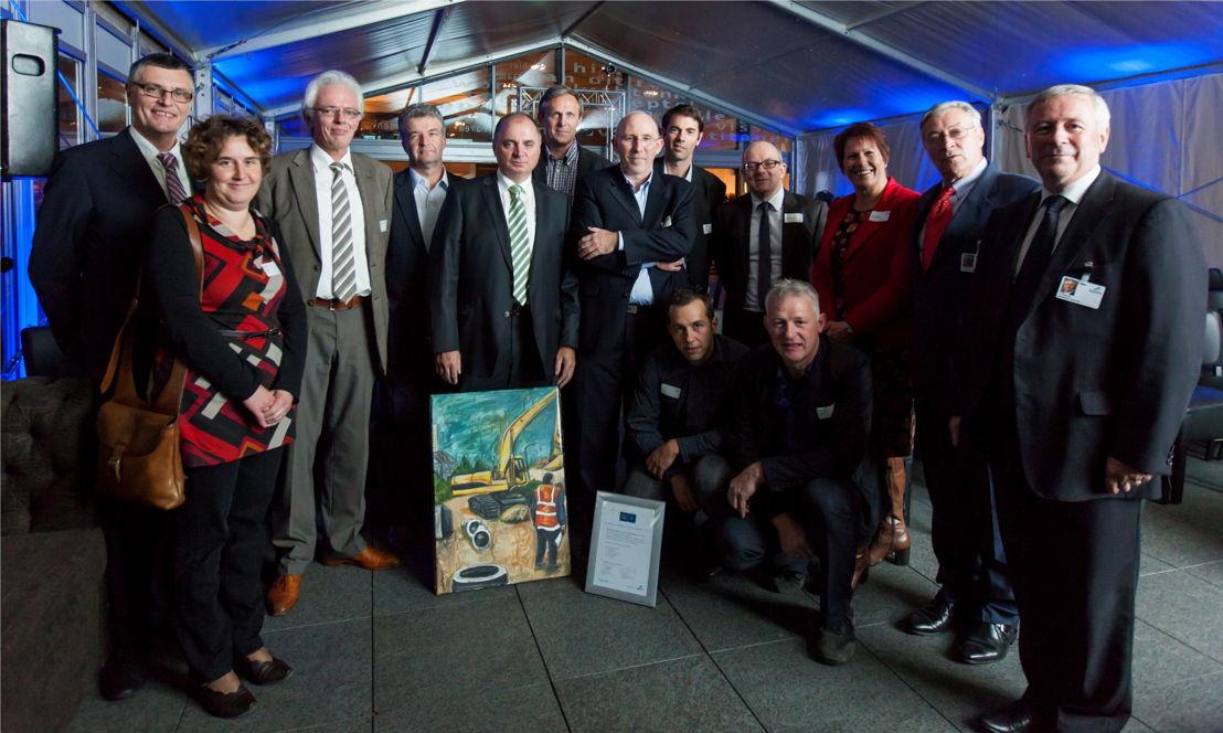 Aannemer VBG, winnaar van de Minder Hinder award 2012