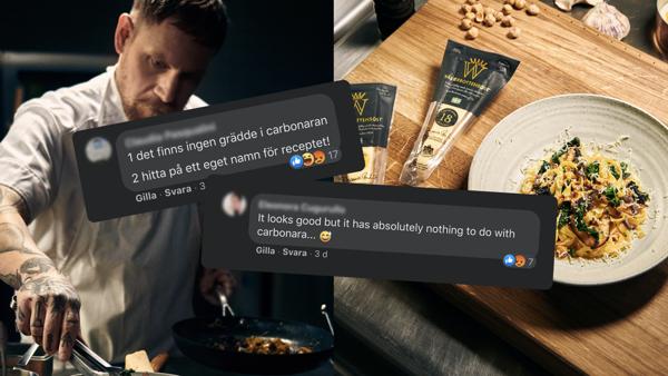 """Preview: Västerbottensost® och Emakina lanserar """"The Swedish Carbonara"""" med Svenska Kocklandslaget."""