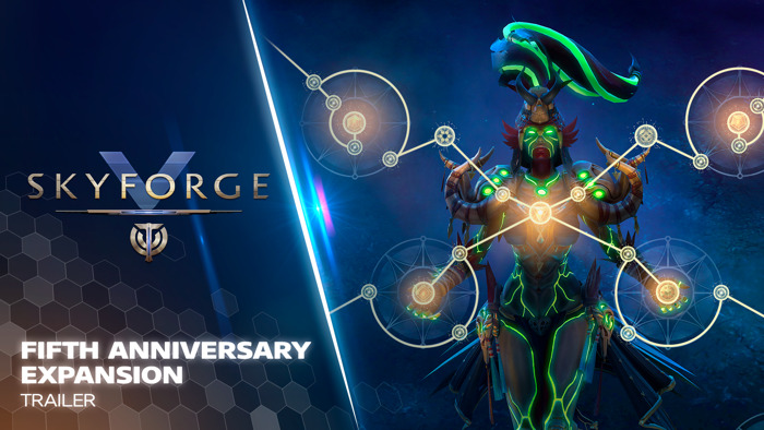 SKYFORGE FIFTH ANNIVERSARY EXPANSION OUT NOW