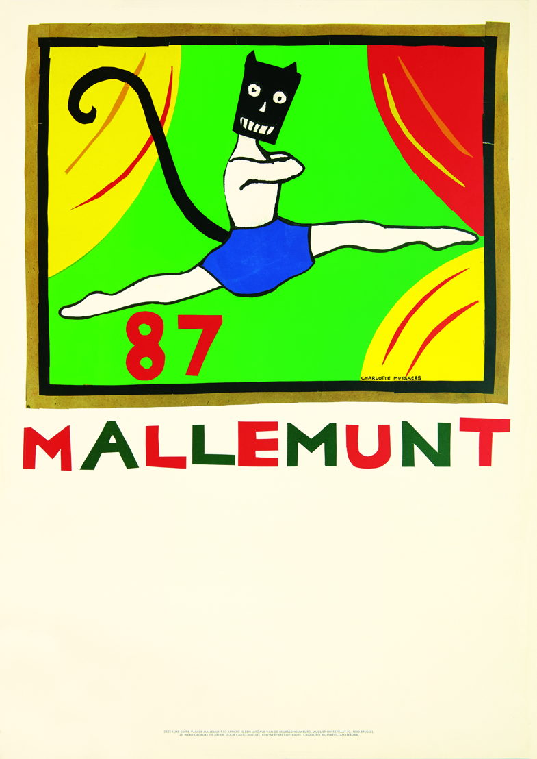 Mallemunt 1987, ontwerp Charlotte Mutsaers