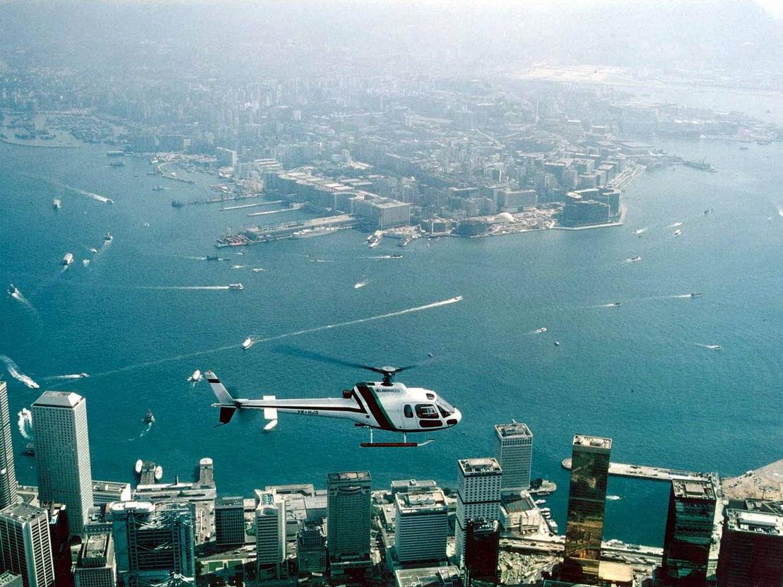 Glamour of Travel - Flights over Hong Kong