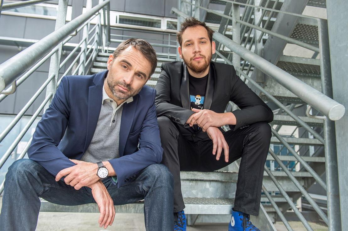 Cinema Canvas: Michaël Pas en Xander Derycke - (c) Joost Joossen