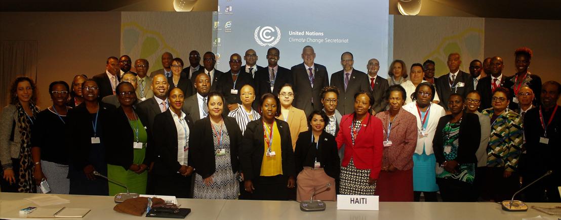 OECS REPRESENTED AT COP 22