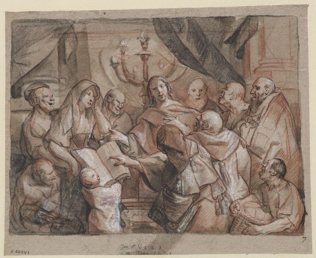 Le Christ et la femme adultère (Jacques Jordaens)
