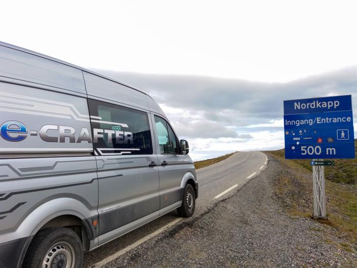 Témoignage : 7.500 km en silence aux confins septentrionaux de l'Europe – Direction le cap Nord à bord du e-Crafter version camping-car
