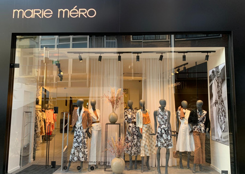 Marie Méro zet voet in modewalhalla Antwerpen