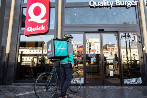 Deliveroo en Quick lanceren partnership in Brussel