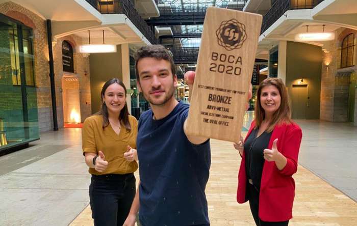 The Oval Office wint Best Of Content Award voor campagne ABVV-Metaal