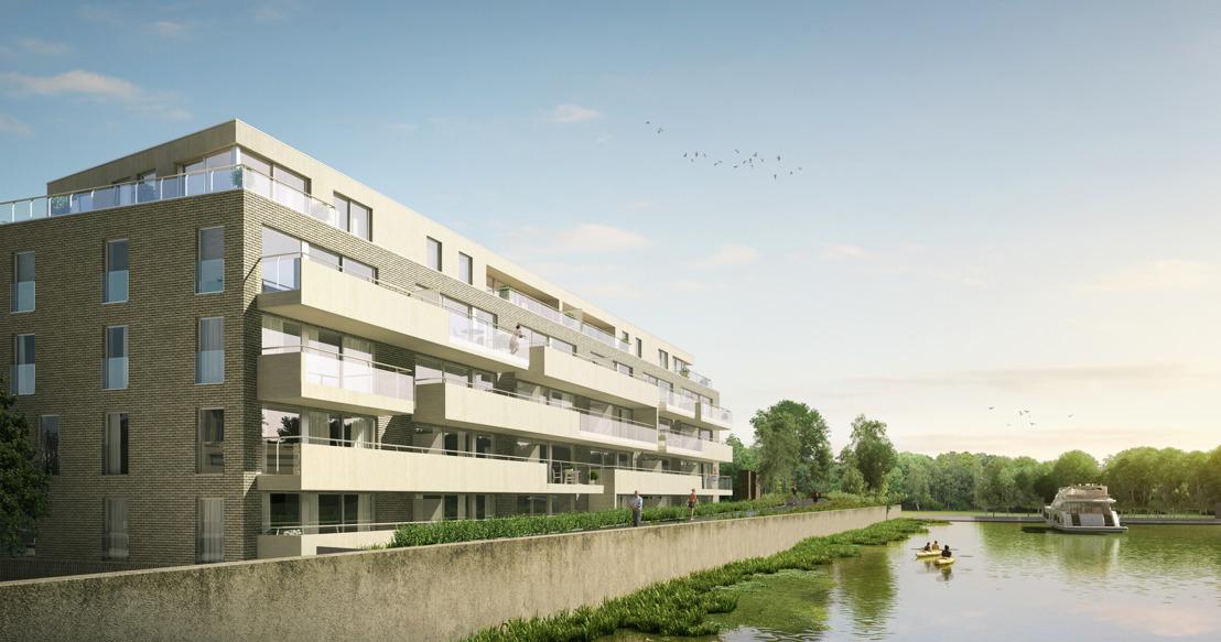 Officiële eerstesteenlegging woonproject Netedijk