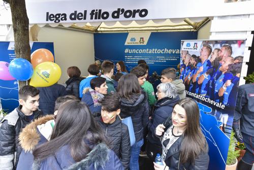 LA LEGA DEL FILO D'ORO E L'ITALRUGBY LANCIANO #UNCONTATTOCHEVALE PER SCENDERE IN CAMPO AL FIANCO DI CHI NON VEDE E NON SENTE