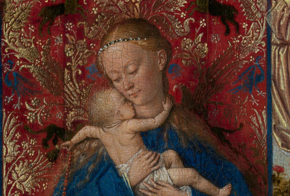Laatst gedateerd en gesigneerd werkje van Jan Van Eyck toegevoegd aan de tentoonstelling Madonna ontmoet Dulle Griet