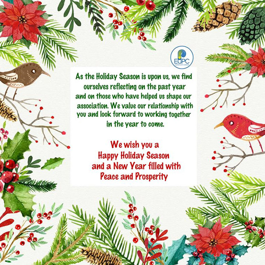 Best Wishes for a Happy Holiday Season & New Year 2016