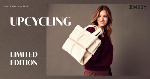 Mayerline herwerkt jassen uit oude collecties tot handtassen