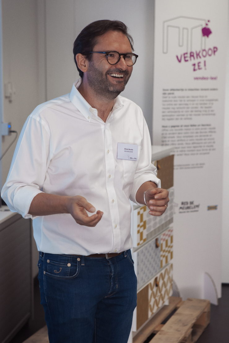 Olivier Baraille, country manager de IKEA Belgique