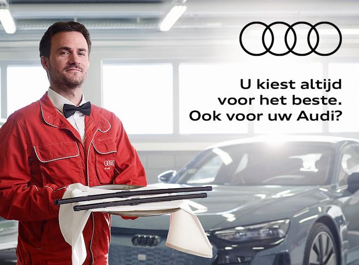Prophets levert topservice voor Audi