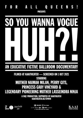 Filmpremière: FOR ALL QUEENS! brengt ballroom naar Kaaitheater