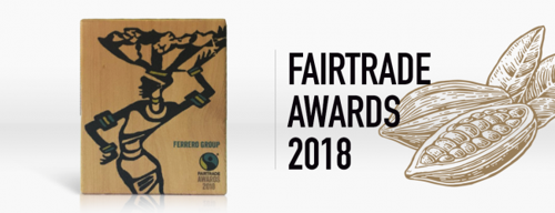 FERRERO WINT FAIRTRADE AWARD 2018