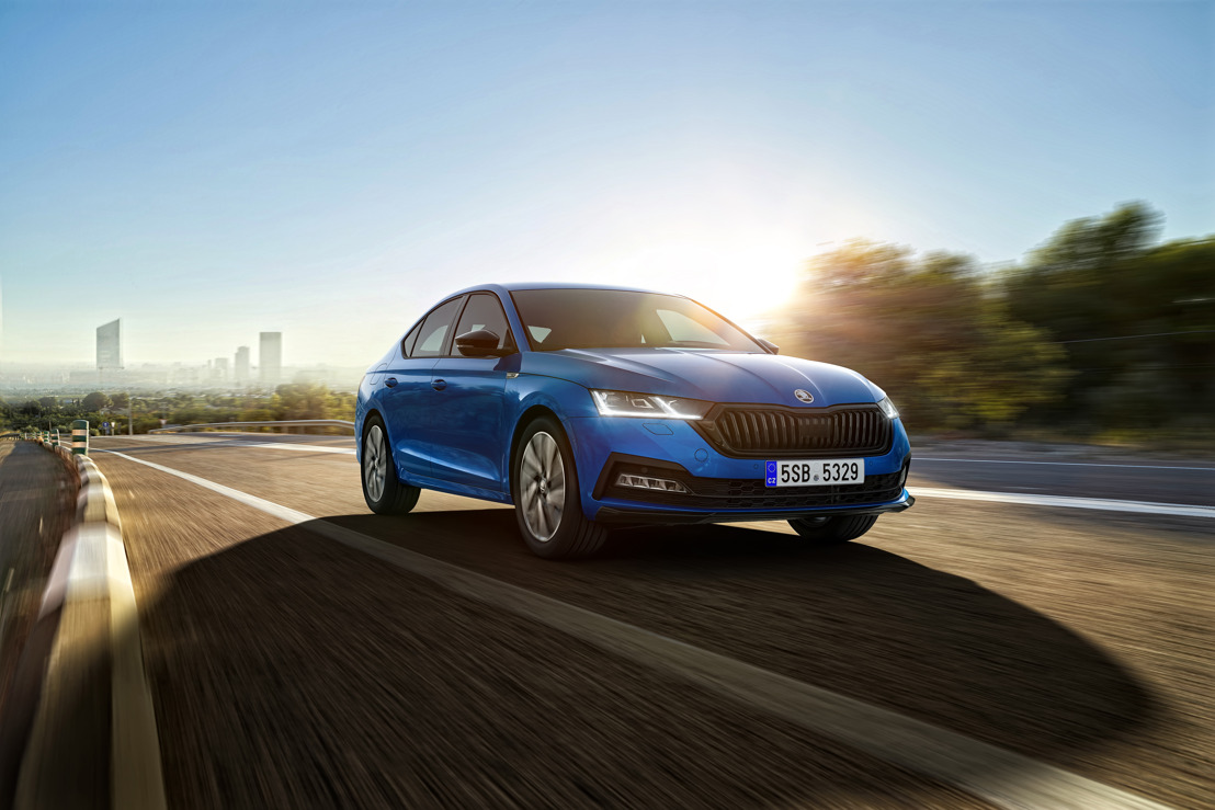 ŠKODA OCTAVIA available in SPORTLINE format for the first time