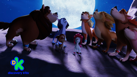Fiestalloween se celebra en Discovery Kids con el estreno de 100% Lobo: la leyenda del anillo lunar