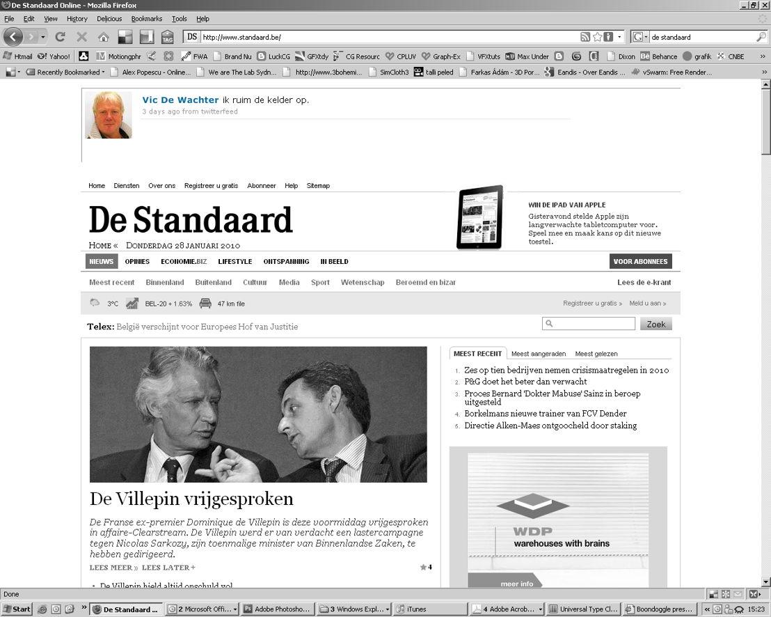 Online - Banner - Vic De Wachter