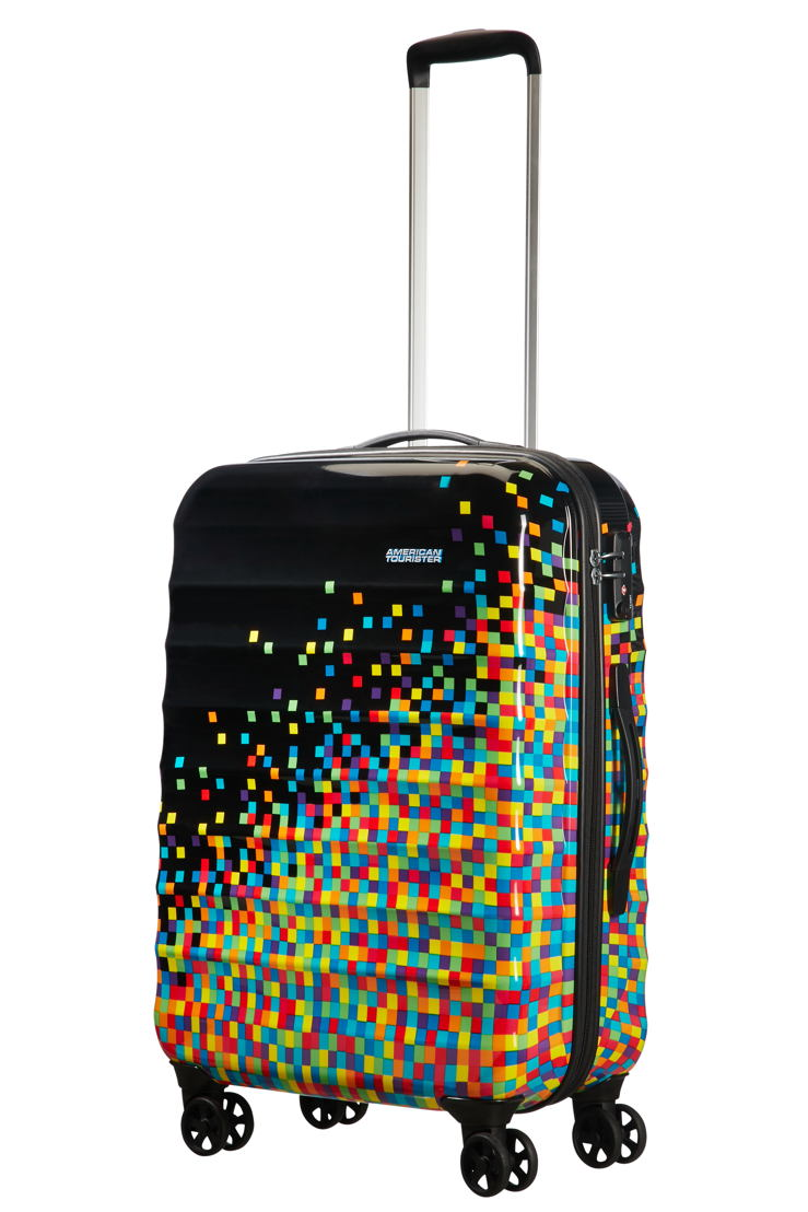 American Tourister - Palm Valley - Pixel black