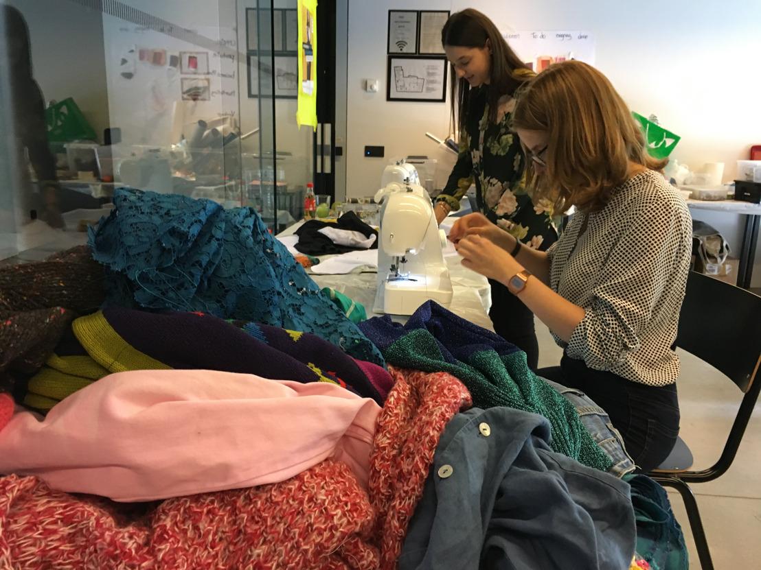 Tientallen jongeren op fashion ondernemerskamp in modestad Antwerpen