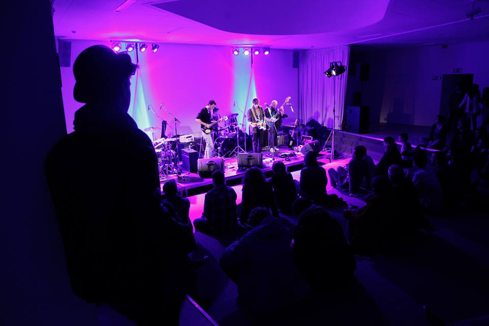 Studennocturne in M. Optreden van Tin Man Tourettes (c) KU Leuven - Rob Stevens