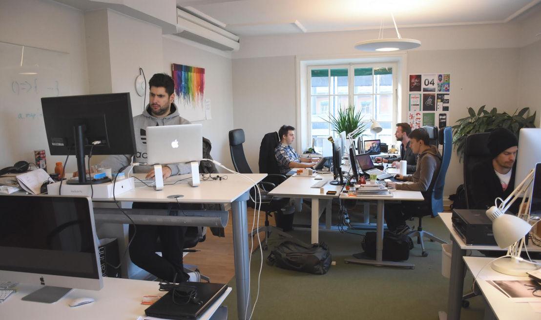 Het kantoor van Dempsey in Stockholm