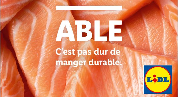 Lidl cesse la vente de produits « durables » et opte pour « ABLE »