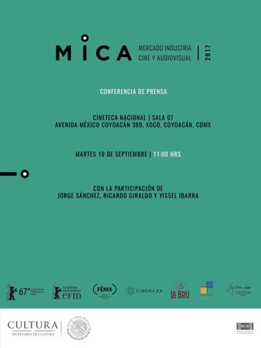 Conferencia de prensa | Mercado Industria Cine y Audiovisual (MICA)