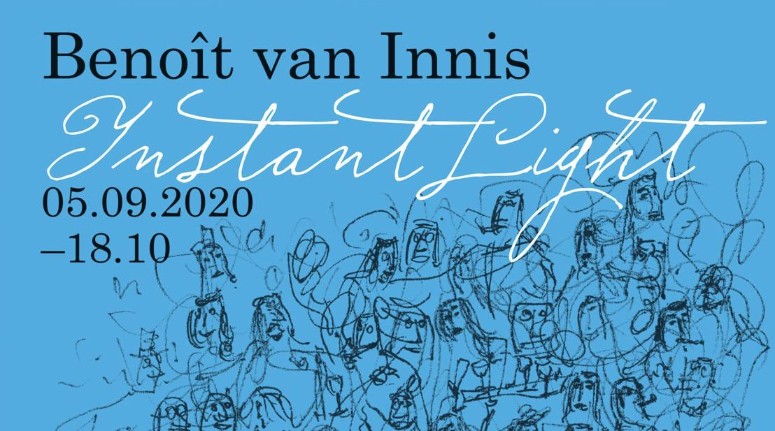Benoît van Innis stelt lockdown tekeningen tentoon in Kortrijk