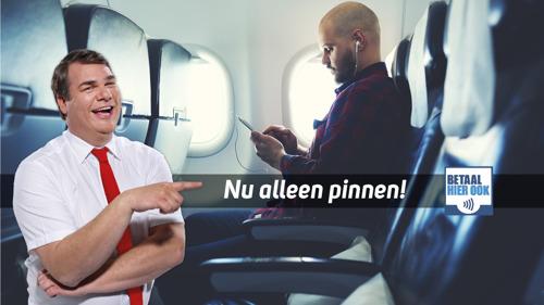Corendon introduceert cashless vliegen in België
