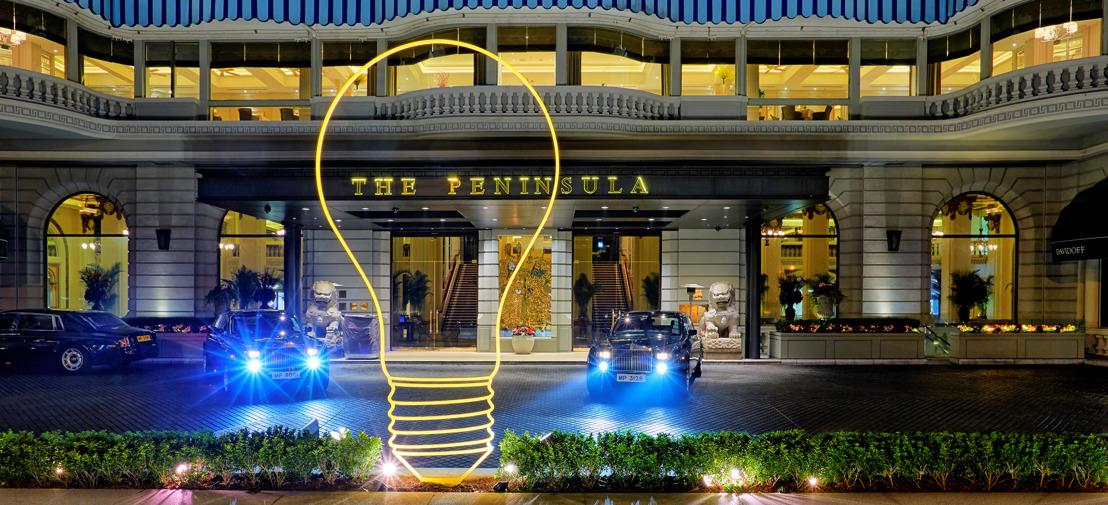 THE PENINSULA HONG KONG PRESENTA BRIGHT IDEA, LA NUEVA Y EXTRAORDINARIA OBRA FIJA DE MICHAEL CRAIG-MARTIN (ACADÉMICO REAL), CELEBRANDO EL TERCER AÑO DE COLABORACIÓN CON LA REAL ACADEMIA DE ARTES DE LONDRES