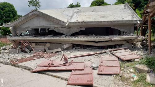 Haïti: de eerste interventies van Artsen Zonder Grenzen na de aardbeving