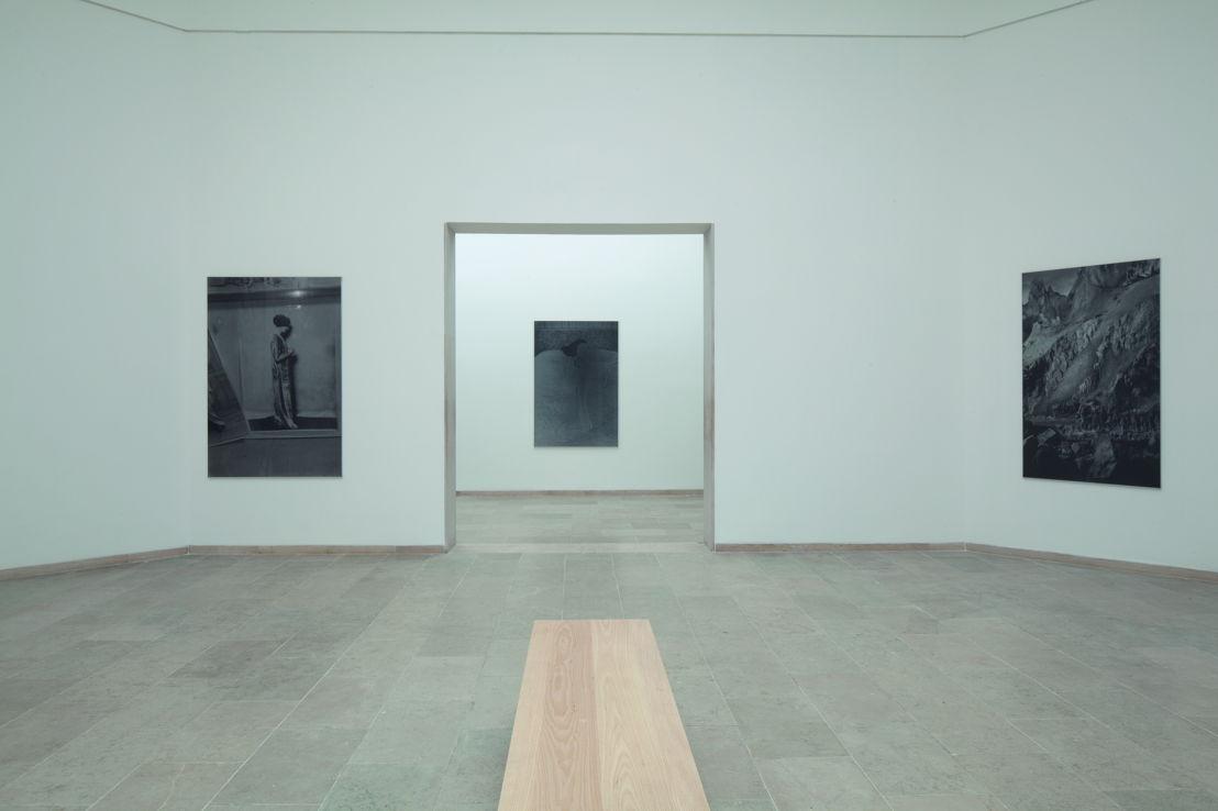 Installation view Belgian Pavilion, 57th International Art Exhibition , La Biennale di Venezia, 2017 <br/>© Dirk Braeckman